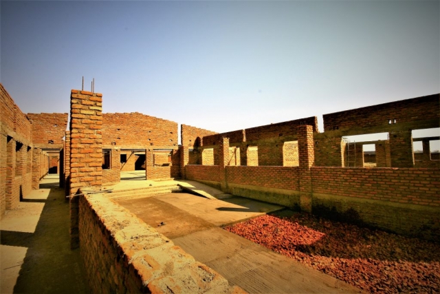 New School Site - Walkways and Courtyard A